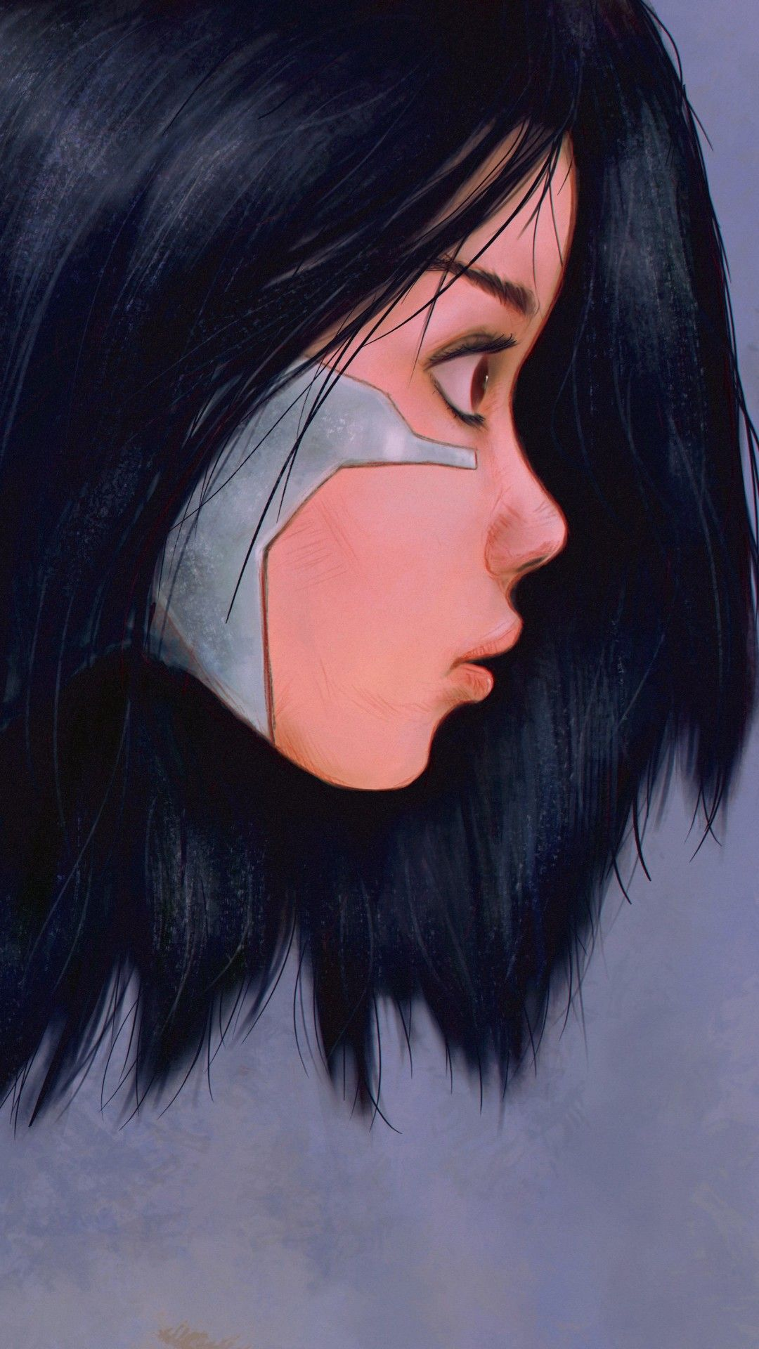 Alita Battle Angel 5k Mobile Wallpaper Iphone Android Samsung Pixel Xiaomi Hd Anime Wallpapers Mobile Wallpaper Anime Wallpaper Download