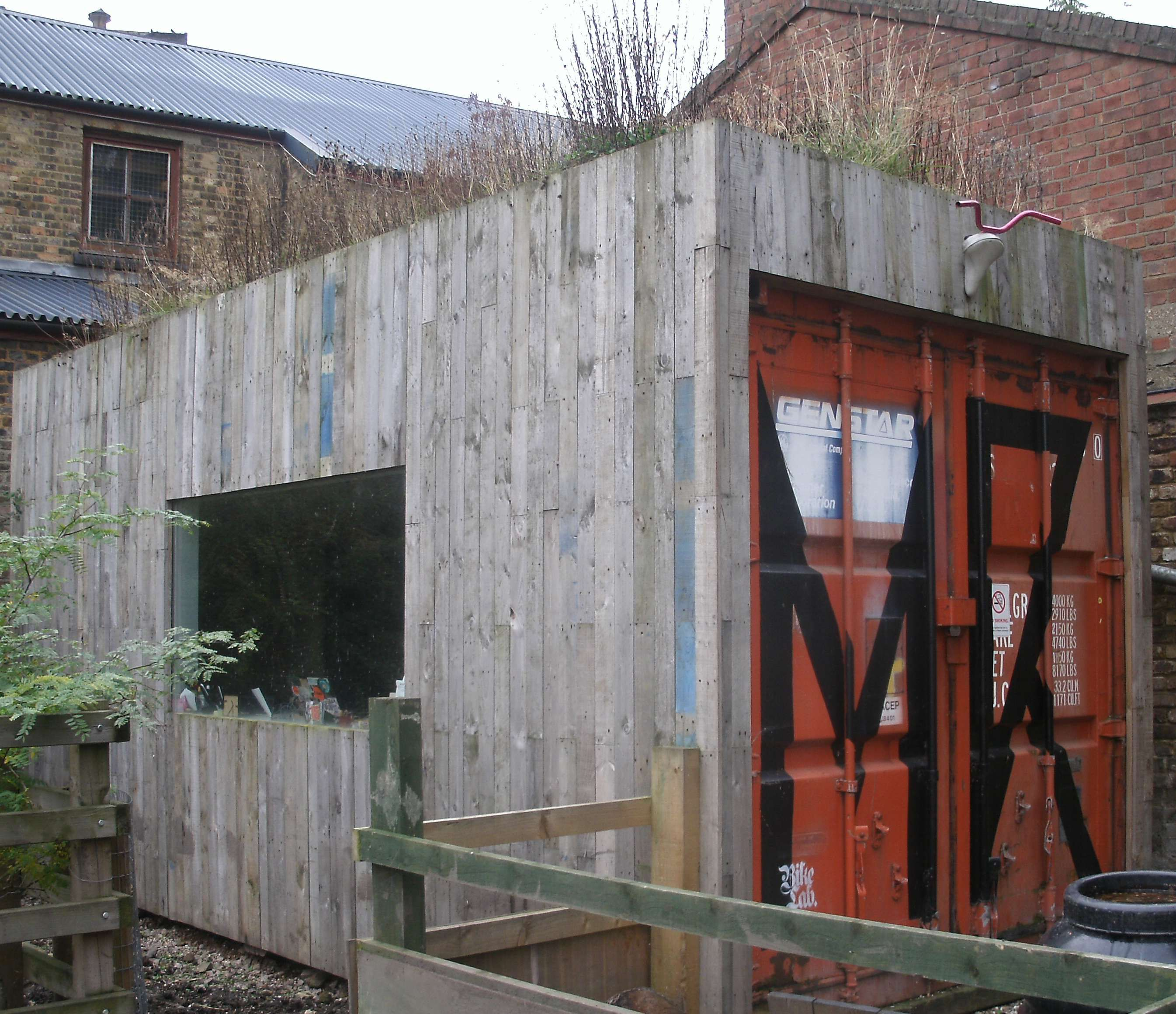 Best Kitchen Gallery: How To Timber Clad A Shipping Container Google Search Shed of Shipping Container Shed on rachelxblog.com