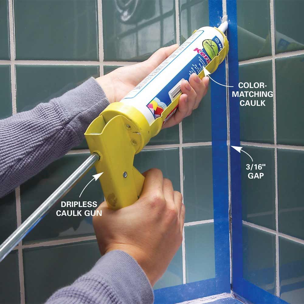 Tips For Caulking Diy Diy Home Repair Home Repairs Caulking Tips