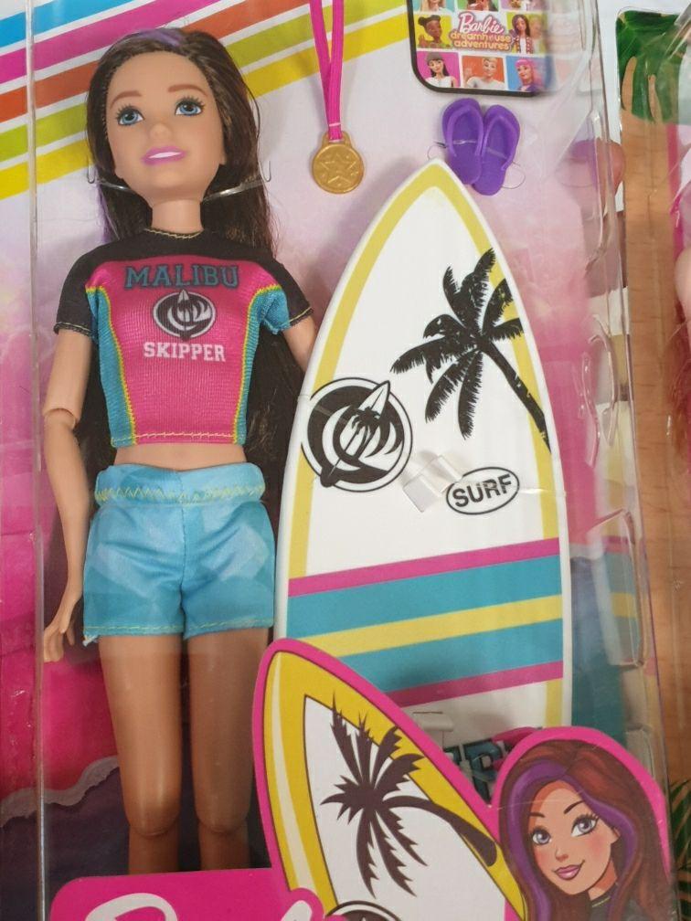 Barbie Sports Skipper Surfing Doll Barbie Barbie Sisters Barbie Life