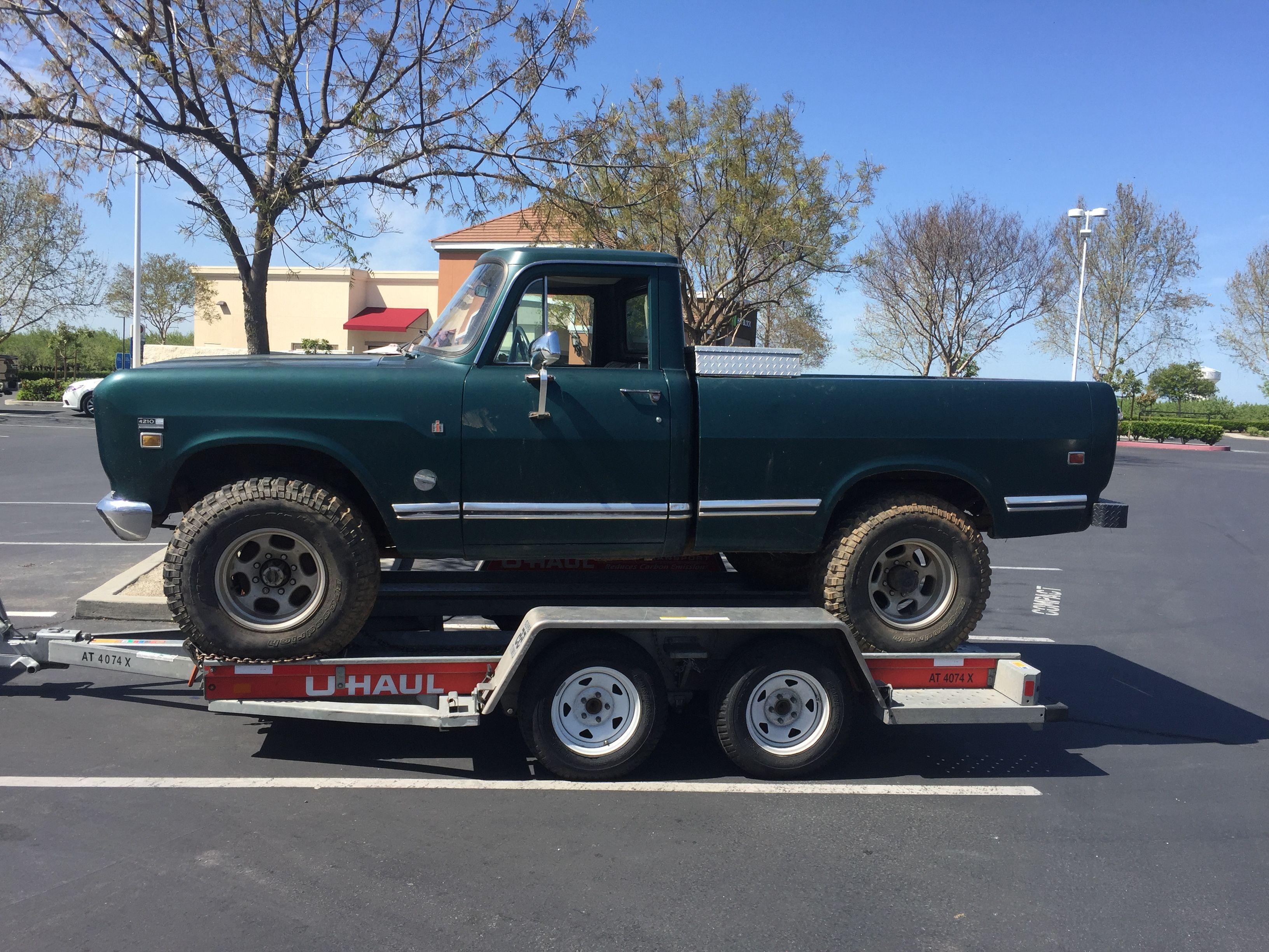 1973 IH 1210, 3/4 ton, Short-bed Pickup, 4x4, 345, Automatic, 8 lug
