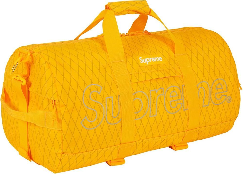 0bc22a26f7da BRAND NEW SUPREME DUFFLE BAG YELLOW FW18  fashion  clothing  shoes   accessories  mensaccessories  bags  ad (ebay link)