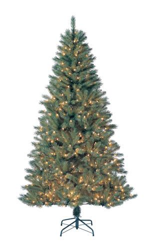 7 pre lit douglas fir christmas tree at menards - Menards Outdoor Lighted Christmas Decorations