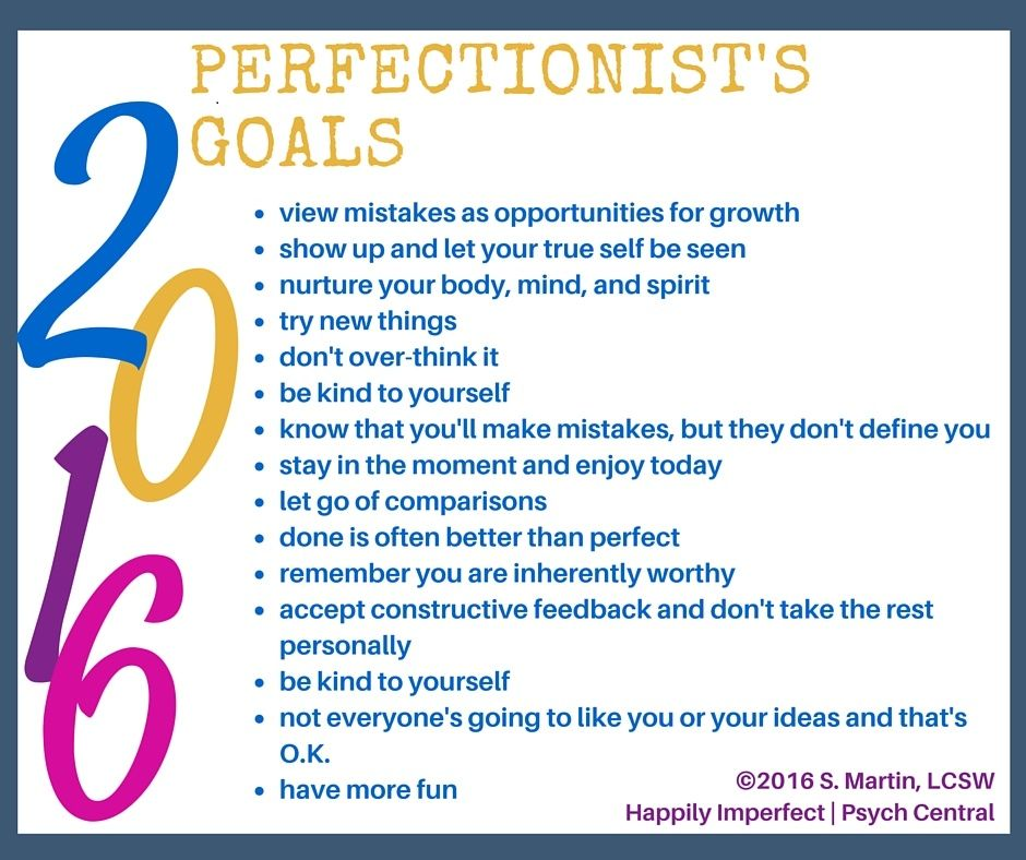 Goal Setting Tips for Perfectionists | Personal Growth & Motivation