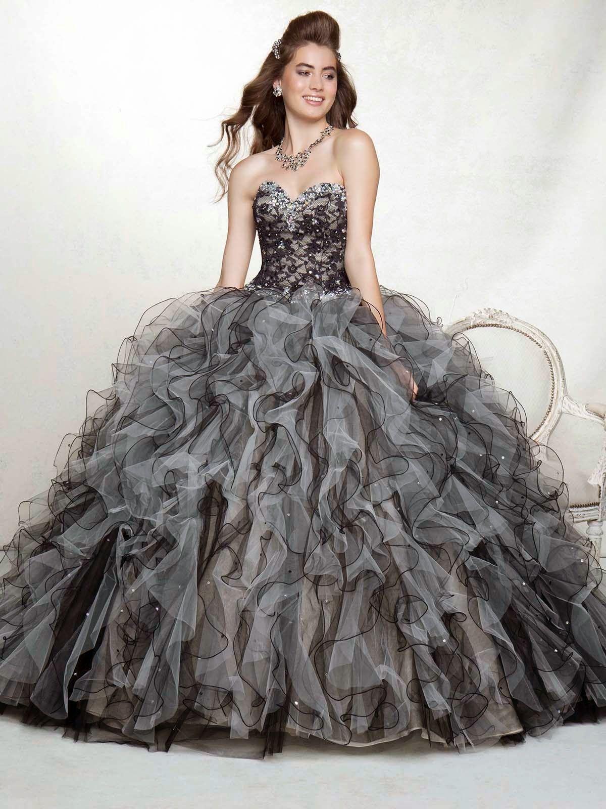 5bc4c6cf0 Fabulosos vestidos de 15 años