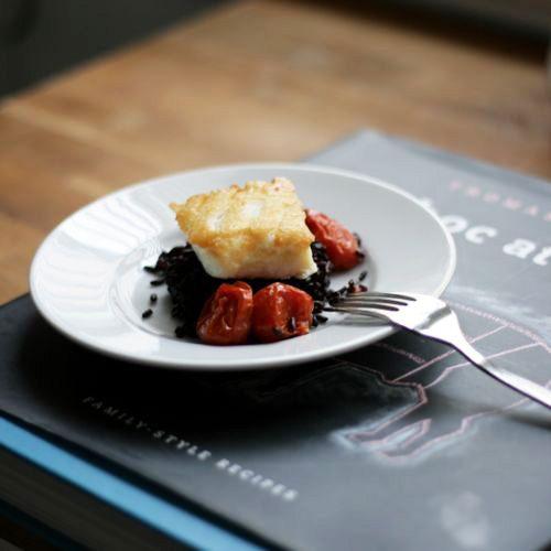 Thomas kellers pan roasted halibut thomas keller gourmet and fish menu forumfinder Gallery
