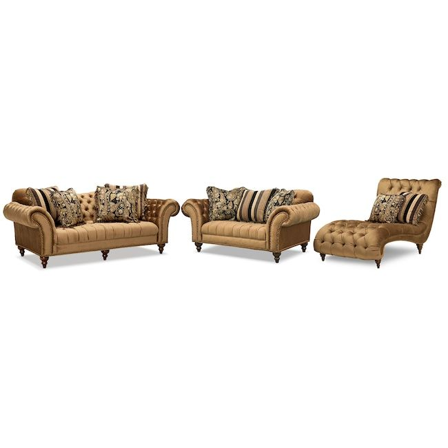 Best Living Room Furniture Brittney Sofa Loveseat And Chaise 400 x 300