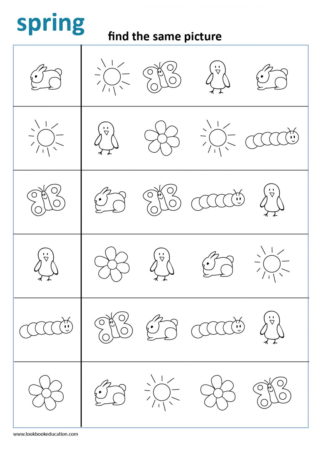 Worksheet Spring Bees Lookbook Education Preschool Worksheets Free Preschool Worksheets Kids Worksheets Preschool [ 1536 x 1086 Pixel ]