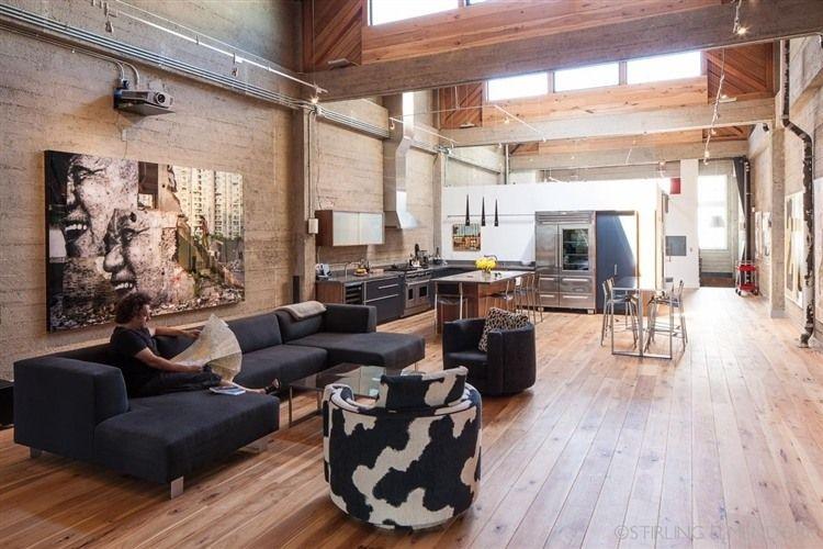 san francisco loft by wardell sagan projekt | diseño y decoración, Innenarchitektur ideen