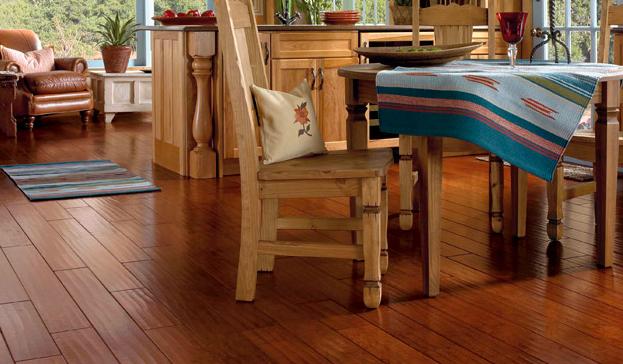 Large Hardwood Floor Slats Rustic Dining Room Hardwood Hardwood Floors Carpet Flooring