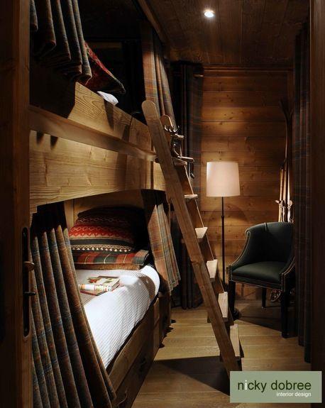 Bedrooms · Nicky Dobree Interior Design   Cozy, Rustic Bunk Beds ...