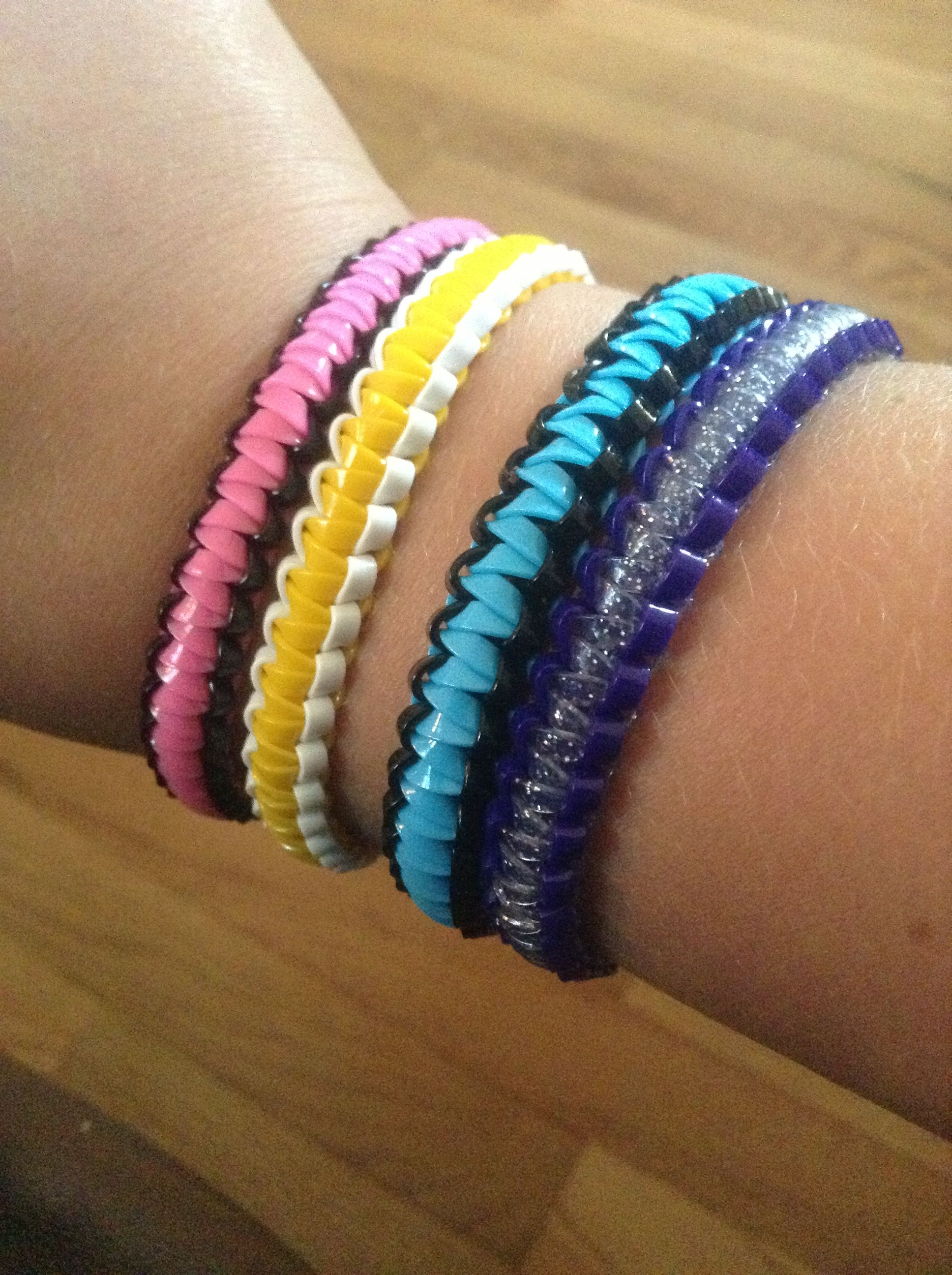 Diy Plastic Lacing Bracelets No Directions Just Picture Kids