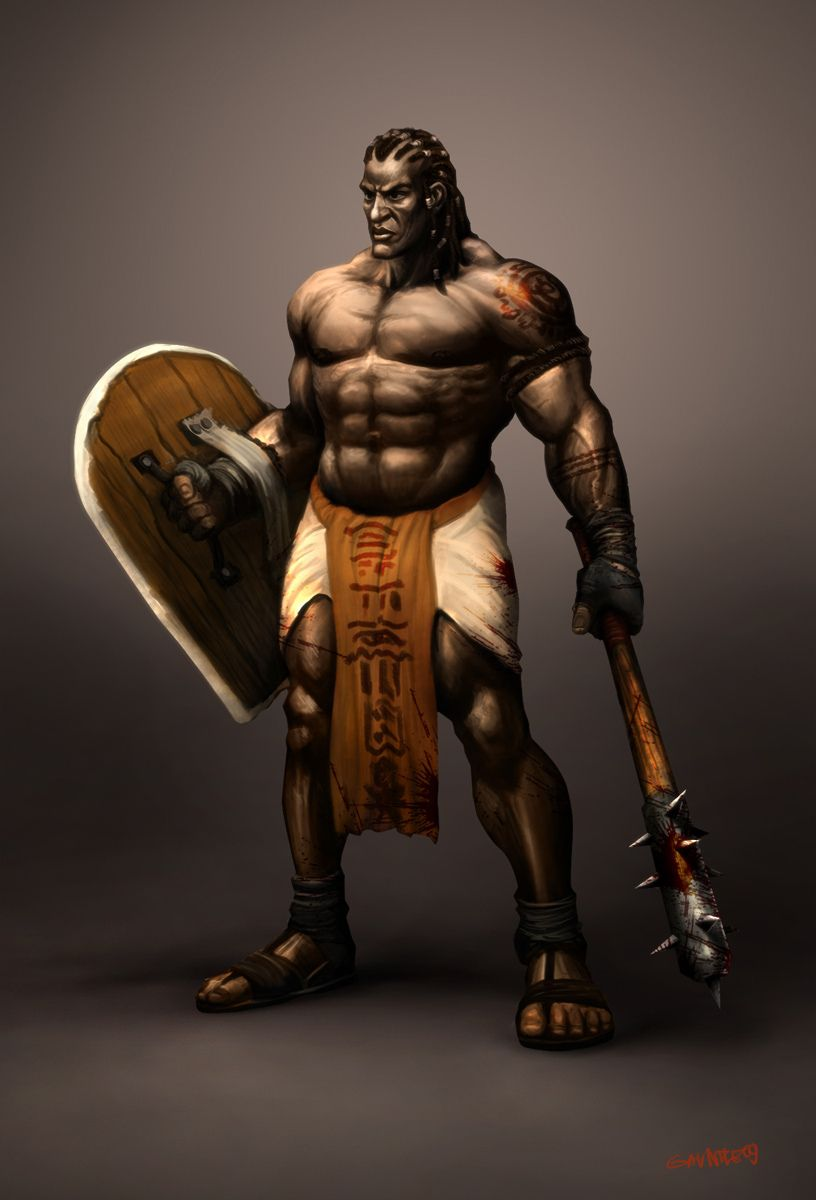 Black Warrior Art In 2019 Fantasy Artwork