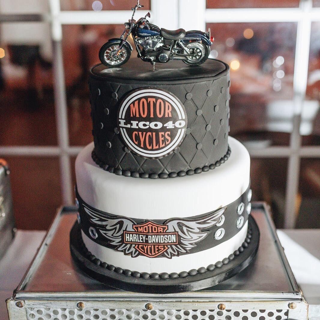 Harley Davidson Cake | Harley davidson cake, Cakes for men ...