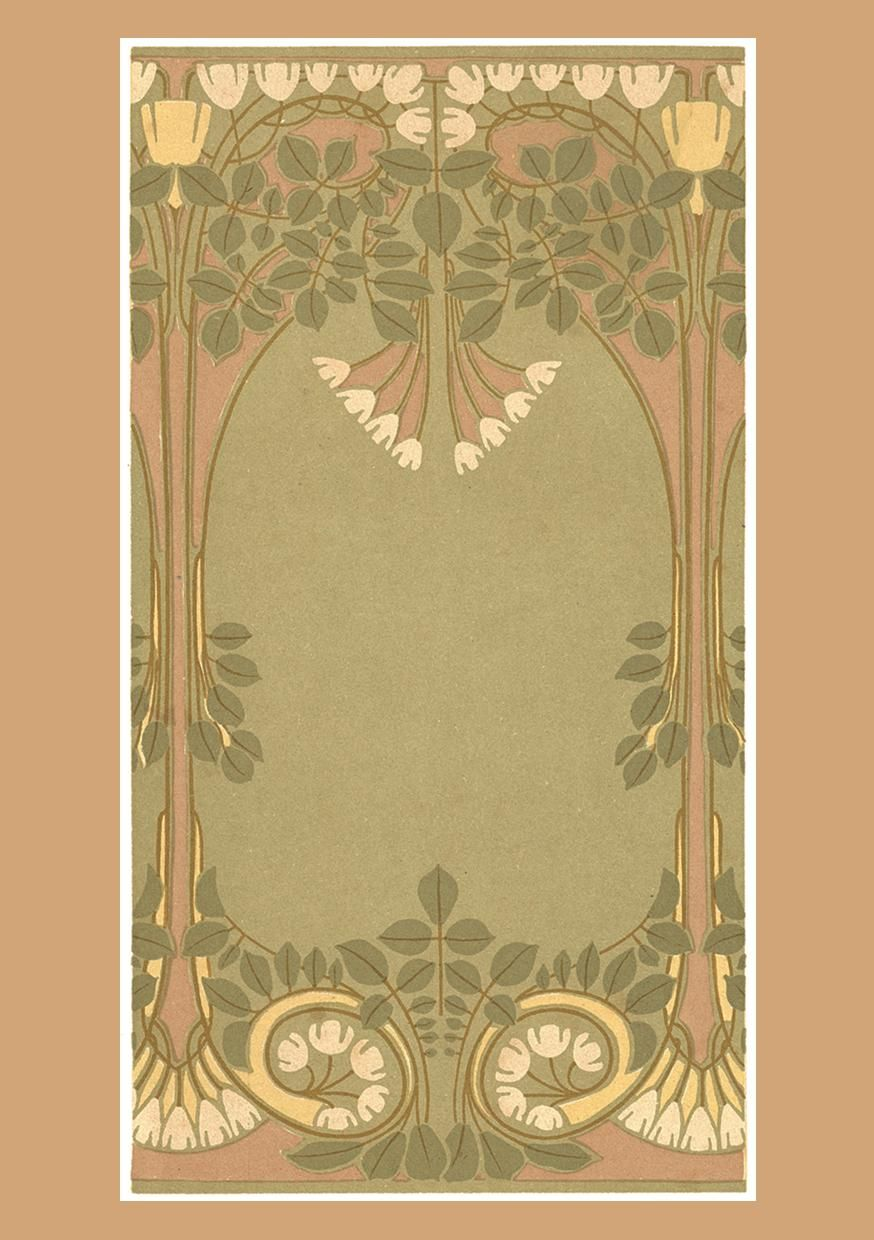 Art Nouveau Wallpaper | Sample Board Online In Australia ...