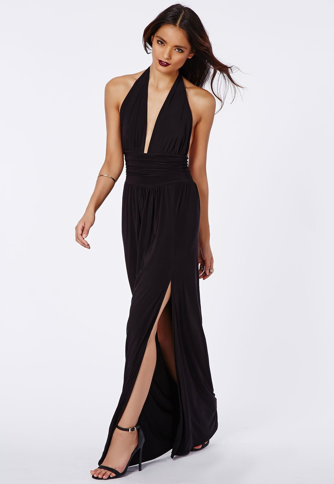 Long-Black-Maxi-Dress-1-1 | Black Maxi Dress | Pinterest | Dress ...