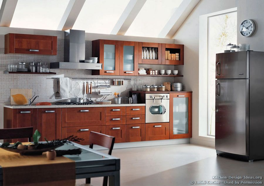 astonishing modern kitchen cabinet design | #Kitchen Idea of the Day: A contemporary kitchen with ...