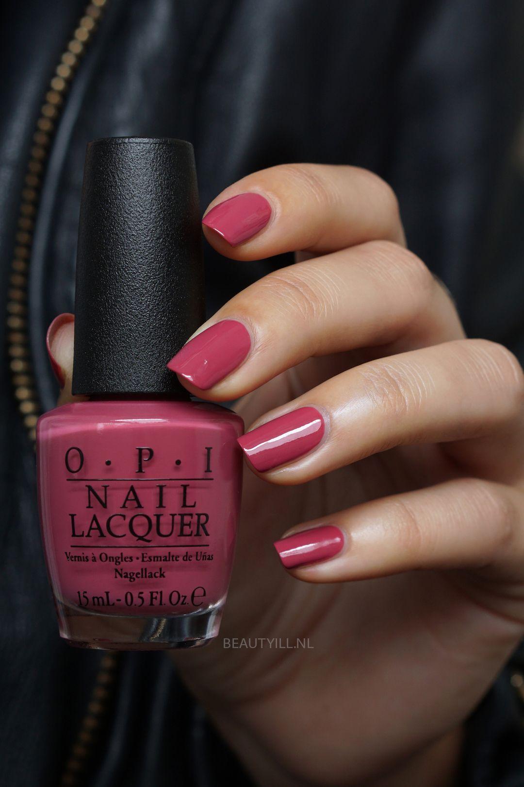 Opi Aurora Berry Alis Gel Nails Manicures Toenails Nail
