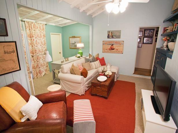 Cottage   Living Rooms   Judith Balis : Designer Portfolio : HGTV   Home U0026  Garden