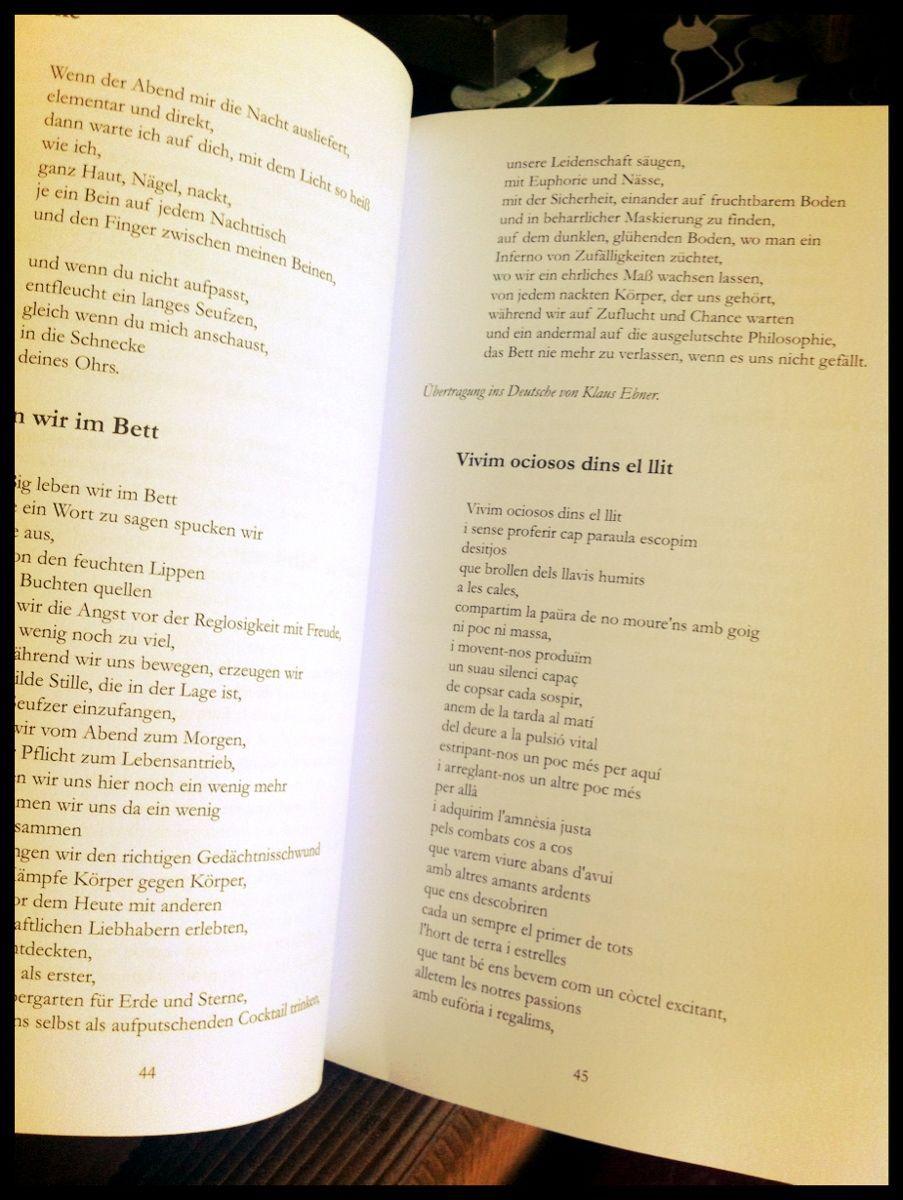 Klaus Ebner Tradueix A Lalemany Dos Poemes De Morbo Dos