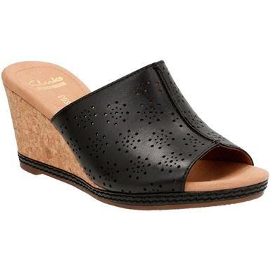 fba4c17cfb7 Clarks Helio Corridor Sandals - Womens Black Leather