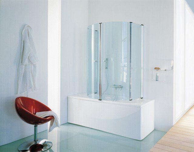 La cabina doccia per vasca Eclisse della collezione Trendy