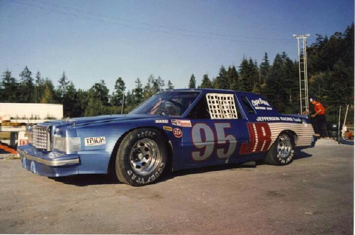 Jefferson Racing T Bird Old Race Cars Ford Racing Stock Car