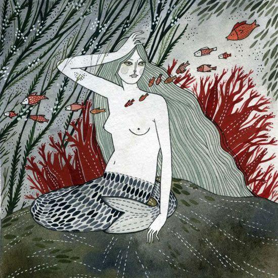 Mermaid by Yelena Bryksenkova