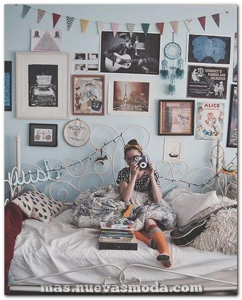 70+ Ideas de decoración de dormitorio vintage que necesitas explorar