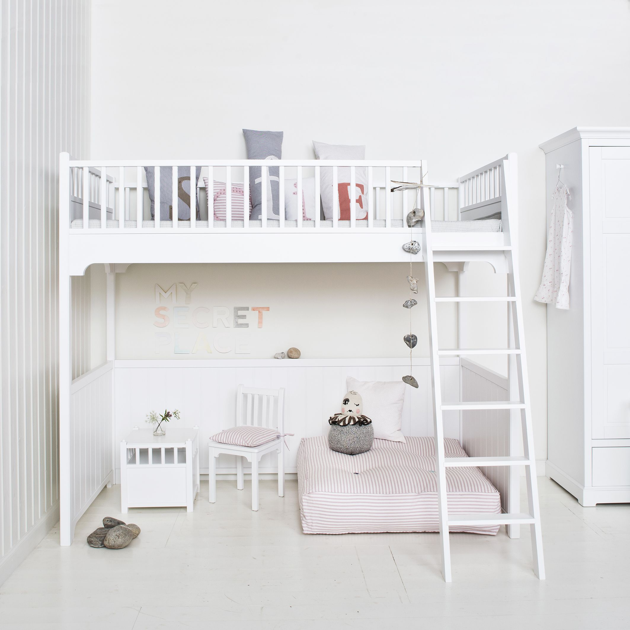 Loft Bed For Small Space Loft Bed From Oliver Furniture Danish Design Nordic
