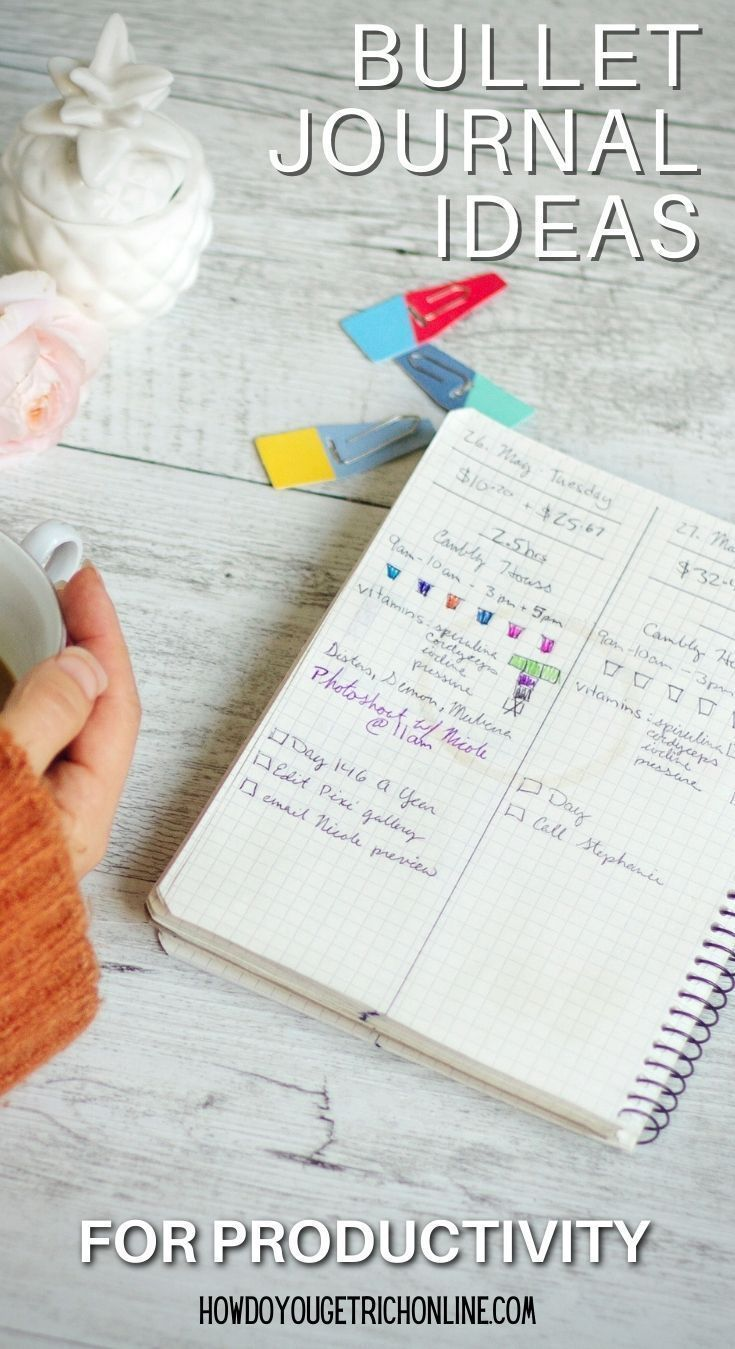 Bullet Journal For Work & Business Professionals (Boost Productivity)