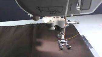 Máquina NX-450Q: Enchendo a bobina e colocando a linha - YouTube