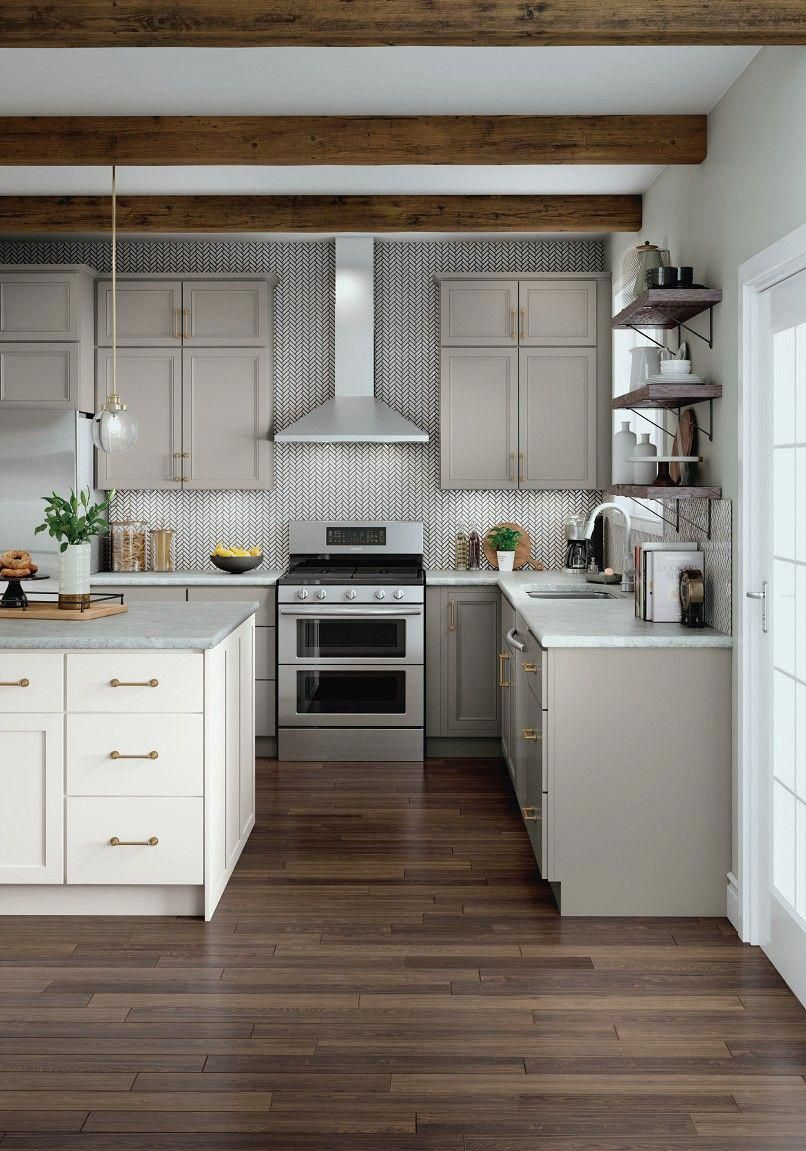 Gray Kitchen Cabinetry Ideas And Inspiration At Value Prices Be Inspired By These Kitchen Cabinet Desi In 2020 Kitchen Layout Kitchen Cabinets Kitchen Design