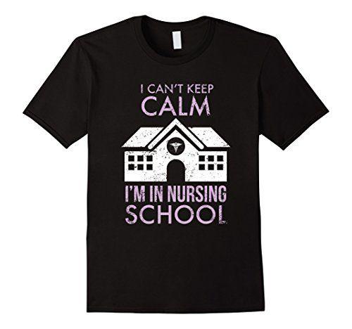 Men's I Cant Keep Calm I'm In Nursing School-Funny Nurse T Shirt Small Black Shoppzee Nurse Shirts http://www.amazon.com/dp/B01DFVGW1Q/ref=cm_sw_r_pi_dp_aTycxb0P3K1BS