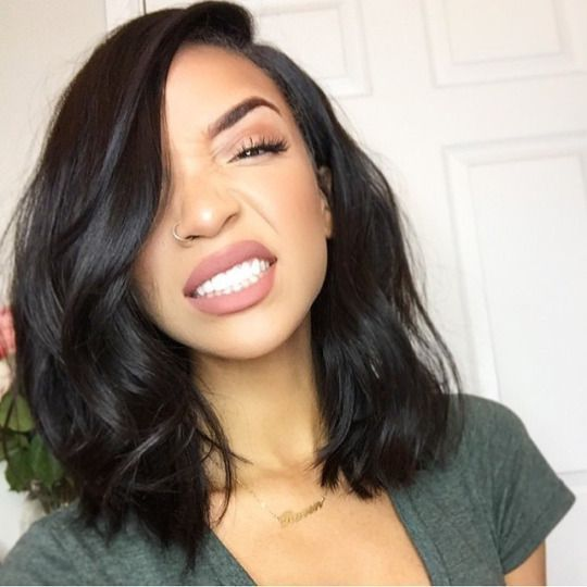 Style Obsession Medium Hair Styles Relaxed Hair Wig Hairstyles