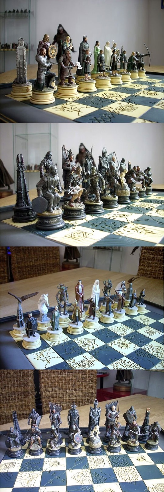 The Lord Of The Rings Chess Set Chess Sets Chess And Lord