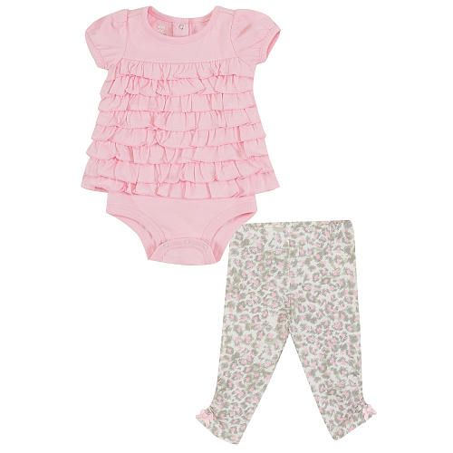 "Koala Baby Girl 2 Piece Short Sleeve Bodysuit Pant Set - Babies R Us - Babies ""R"" Us"