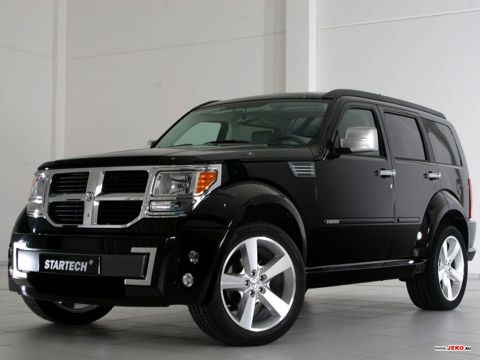 The dodge nitro suv large and in charge