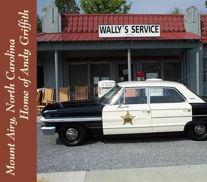 Squad Car At Courthouse The Andy Griffith Show