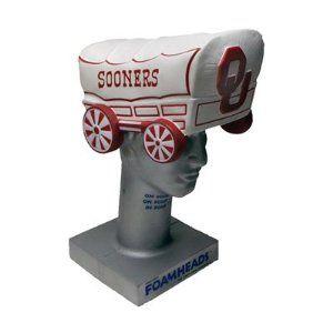 Oklahoma Sooners Schoonerhead Foam Hat