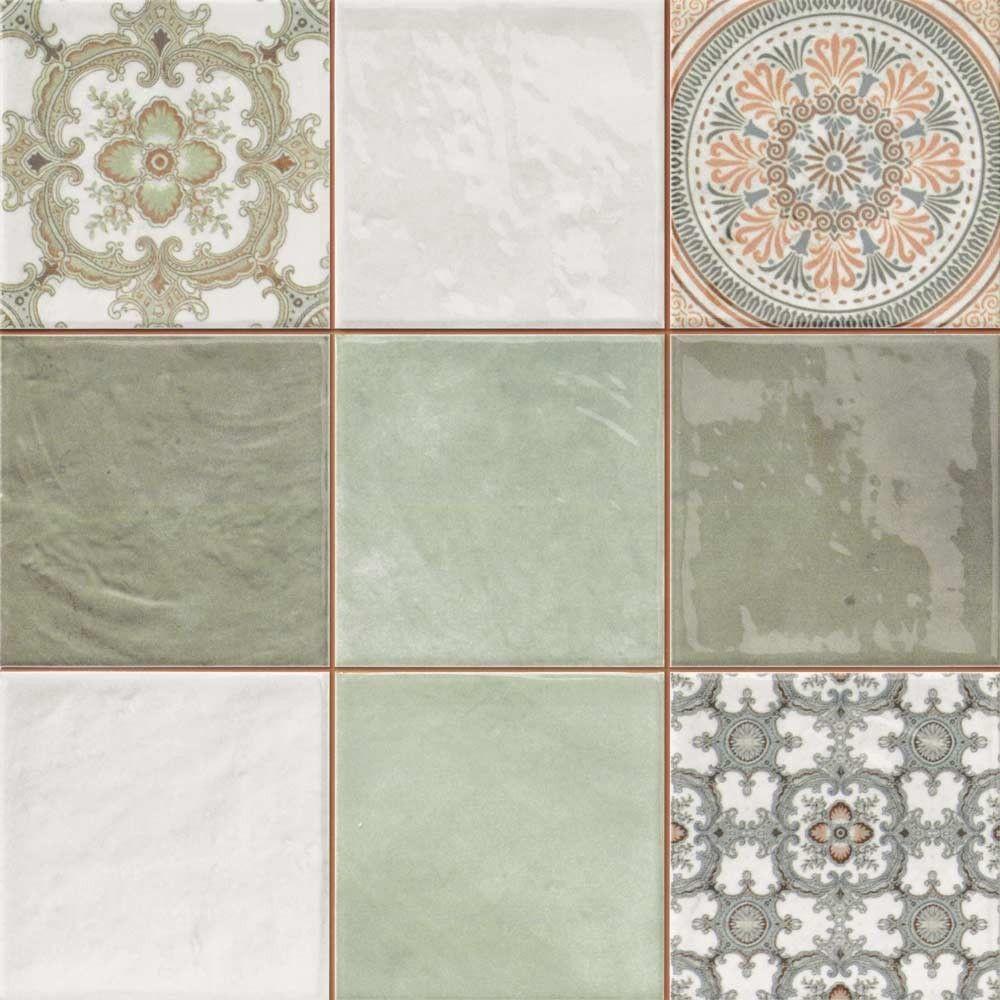 Mint decor tiles jamilia tiles 333x333x9mm tiles kitchen tiles ceramic mint decor tiles from the jamilia tiles range by envy doublecrazyfo Image collections