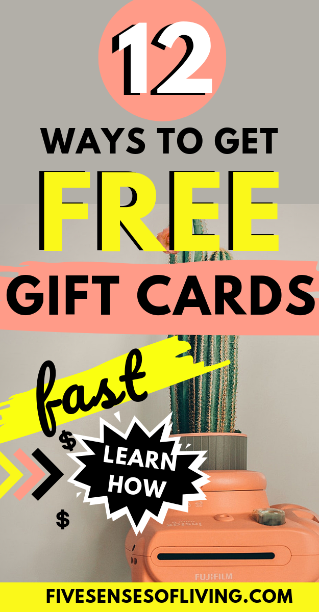 12+ Super Easy Ways To Earn Free Amazon Gift Cards Fast