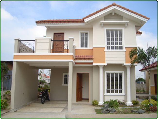 Frentes de casas peque as de dos plantas dise o de casa for Disenos de casas de dos plantas