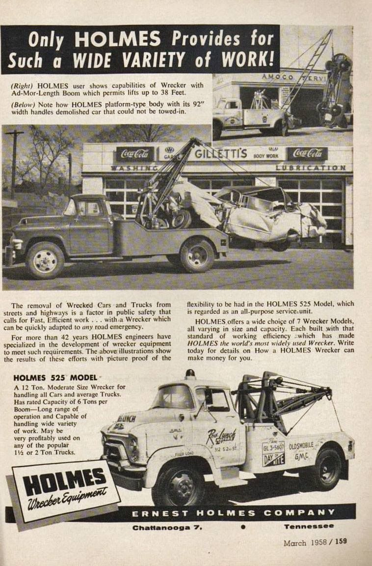 Johnson s towing scranton pa circa 1976 tow trucks pinterest tow truck and cars