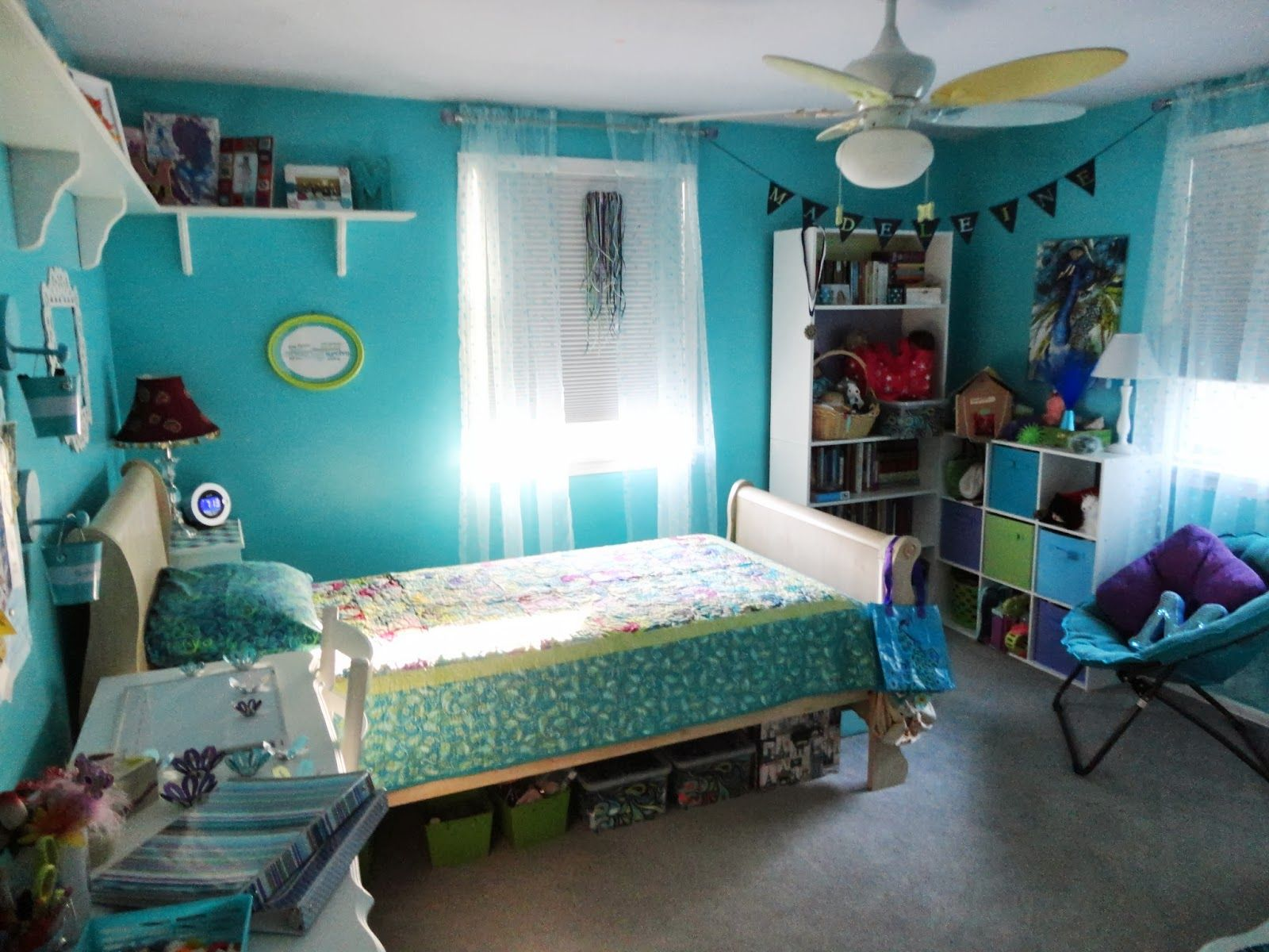 Girls Bedroom Ideas Blue And Green. bedroom wonderful teenage girl ideas blue pictures teamne extraordinary  cute room decor decorated with double mini