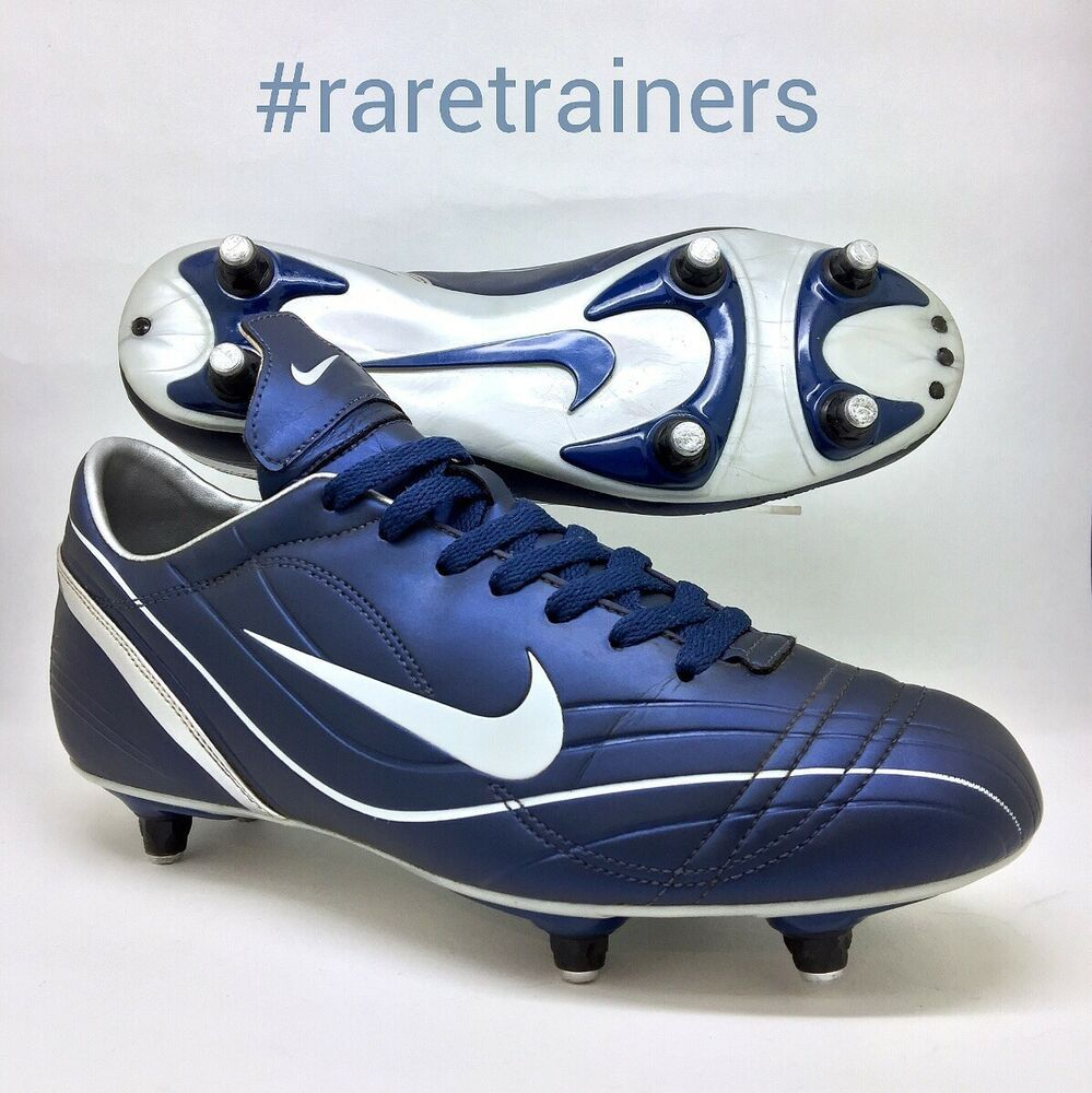 9ea2db6ae Nike mens Mercurial Football Boots Blue size 8 PACE VAPOR SG Cleats EU 42.5  US 9