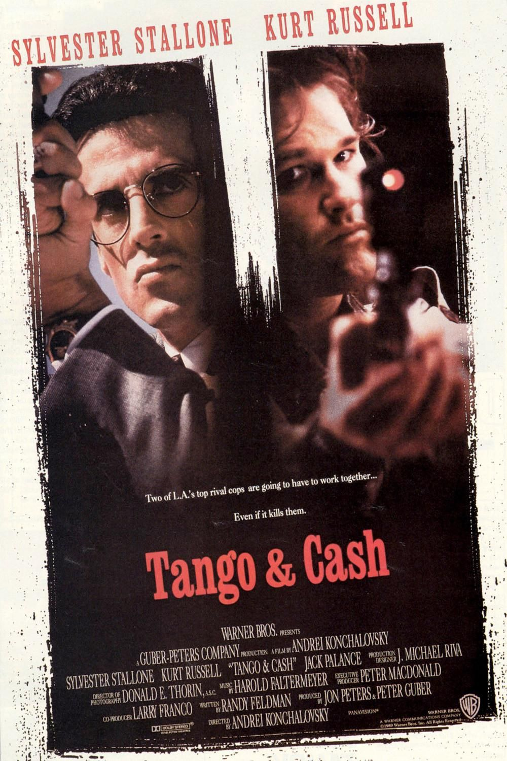 Tango And Cash Tango Cash Sylvester Stallone Movie Posters