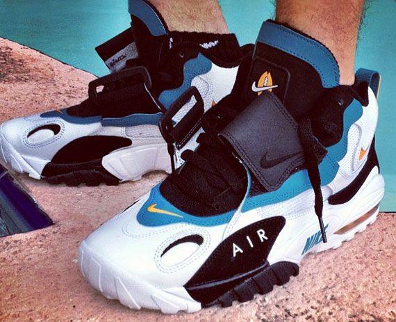 Nike Air Speed Turf Max 'Miami Dolphins