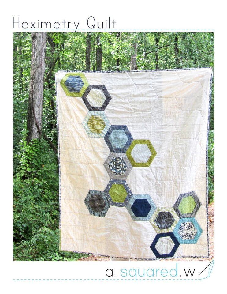 Heximetry Quilt Pattern