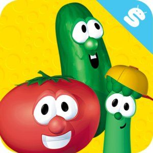 FREE Veggie Tales Spotisode Game App for Android Devices